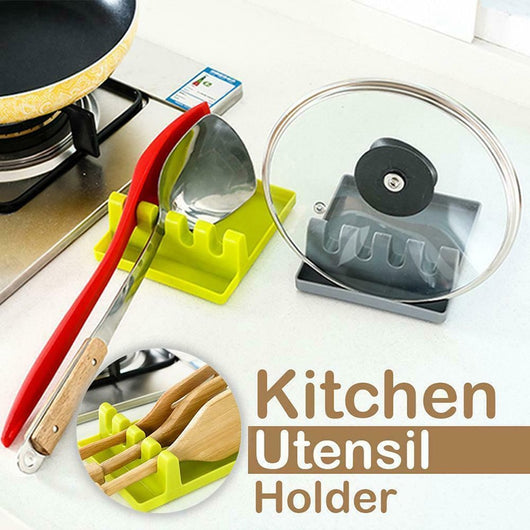 2pcs Kitchen Utensil Rest Holder