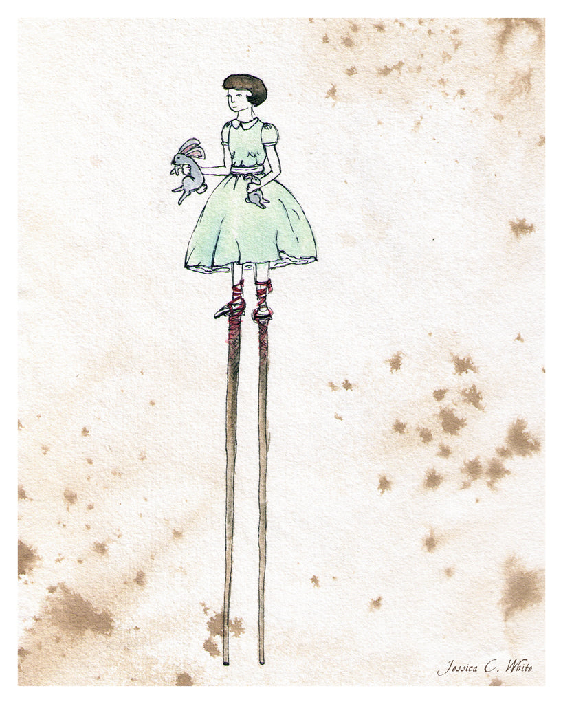 Stilts Girl