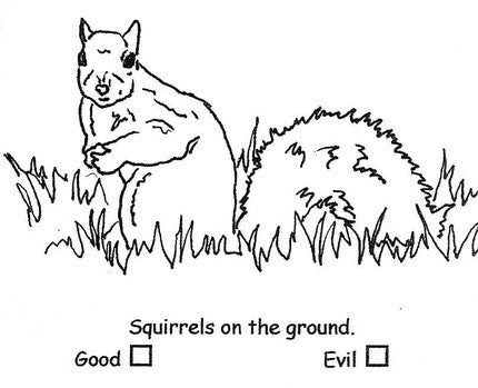 Choose Your Own Moral Code - Squirrels vs. Bunnies
