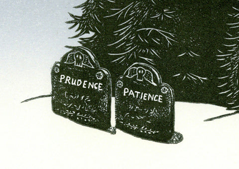 Prudence and Patience - Digital Print