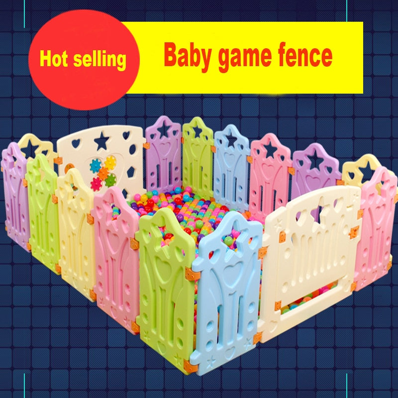 Baby game fence  Multiple combinations  baby crawling fence toddler fence  child safety fence toy