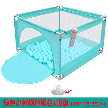 Baby play fence indoor baby crawling mat toddler  home ball pool toy child shatter-resistant fence