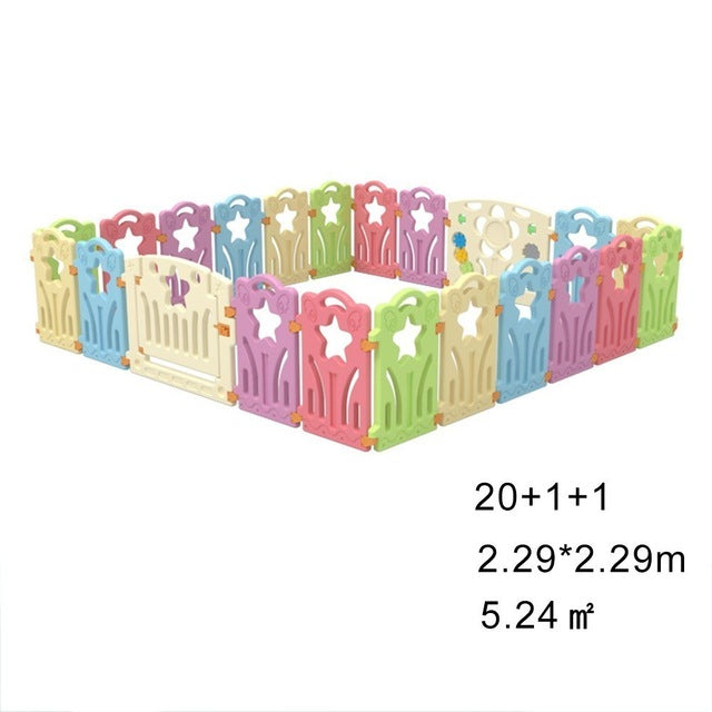 Baby Playpen Fence Fencing For Children Game Crawling Security Toddler Ball Pool Toy Kid Playground Indoor Family Amusement Park