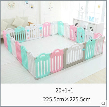 2019 Child game Fence indoor amusement park big space baby crawling mat baby home safety toddler guardrail toy playpen