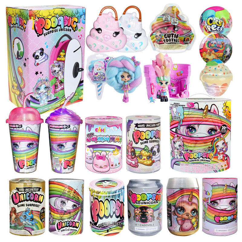 Poopsie Slime Unicorn Ball lols Dolls Poop Girls Toys Hobbies Accessories Rainbow Bright Star or Oopsie Starlight toys