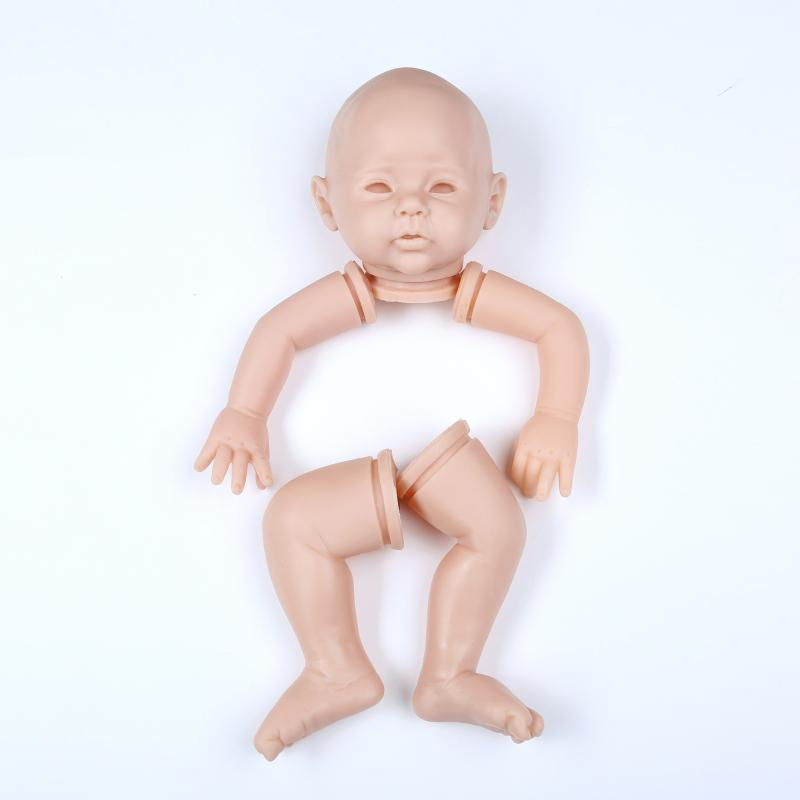 NPK 50cm Doll Mould Reborn Doll Kit Unpainted Doll Parts Rebirth Infant Doll Mould Hand Tools