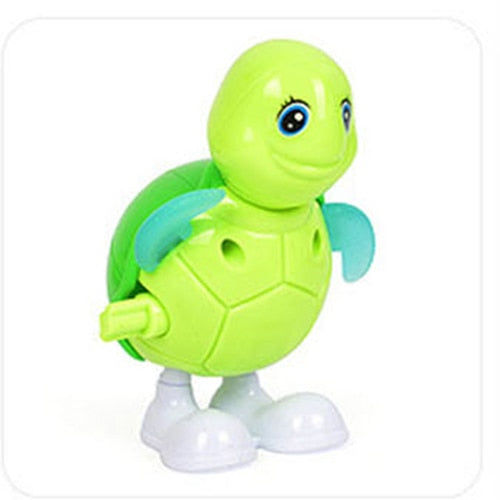 Kids Classic Wind Up Animal Clockwork Toys Jumping Frog Ducks birds bee Vintage Toy For Children Boys Educational Free Shipping