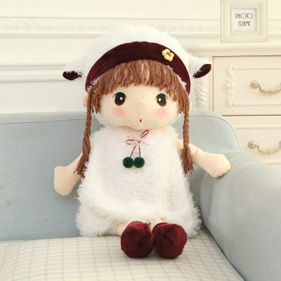 1pc 45cm New RagDoll Stuffed Dolls Plush Phyl Plush Wedding Rag Doll Cute toys Sweet Model Girl's Kids Birthday Gift