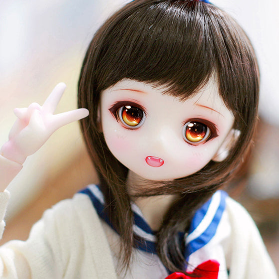 BJD doll SD doll 1/4 girl Airi love cartoon cartoon joint doll two yuan