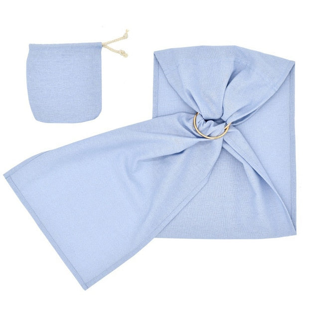 MUQGEW Toddler Baby Linen Solid Doll Carrier Doll Ring Sling Children's Toy Ring Sling