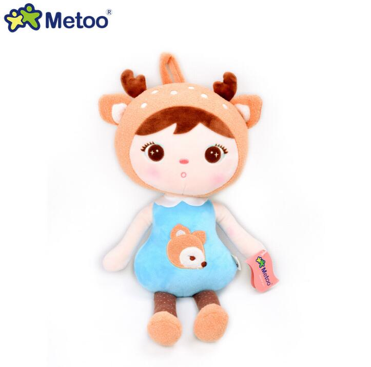 22cm Metoo Doll Mini Plush Sweet Cute Stuffed Brinquedos Backpack Pendant Baby Kids Toys for Girls Birthday Christmas gifts