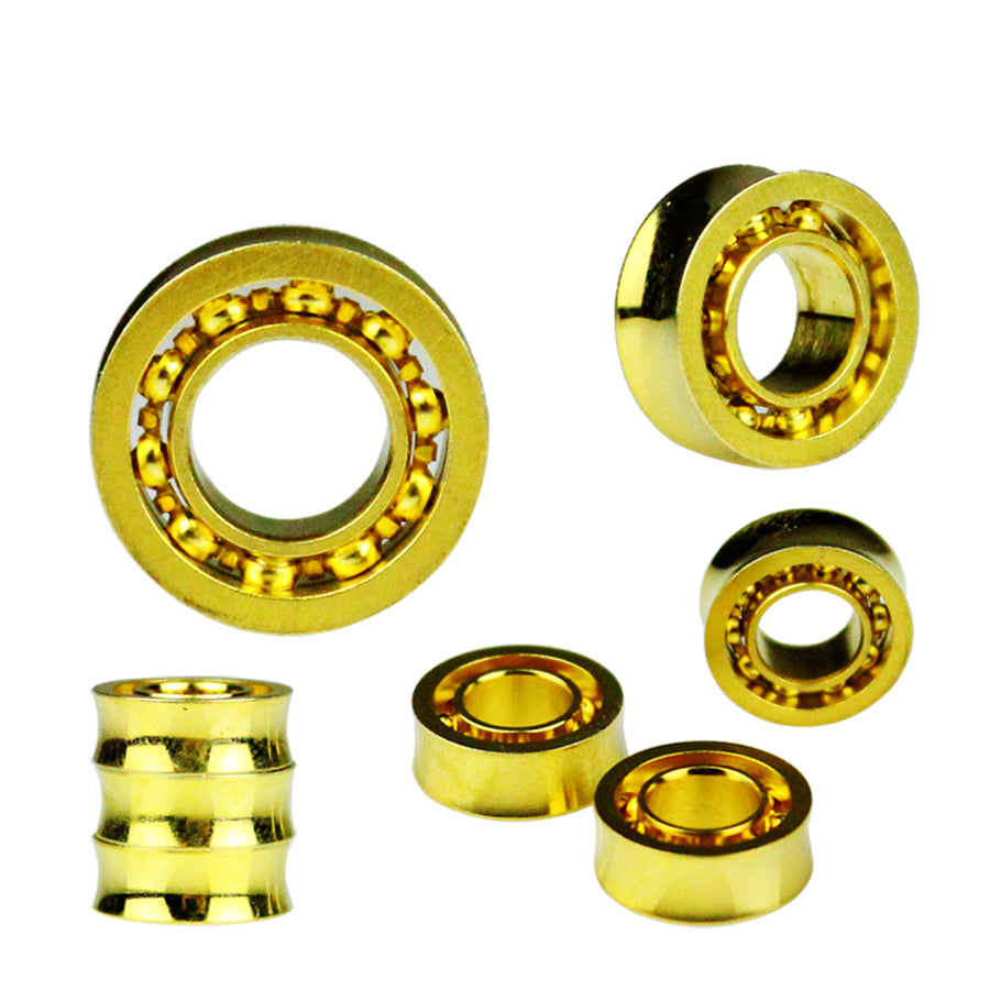 New Arrive 1PCS Gold 10 Ball Style Yoyo bearing Professional YOYO bearing Toys Metal Yo-Yo bearing Children Gifts Classic Toys