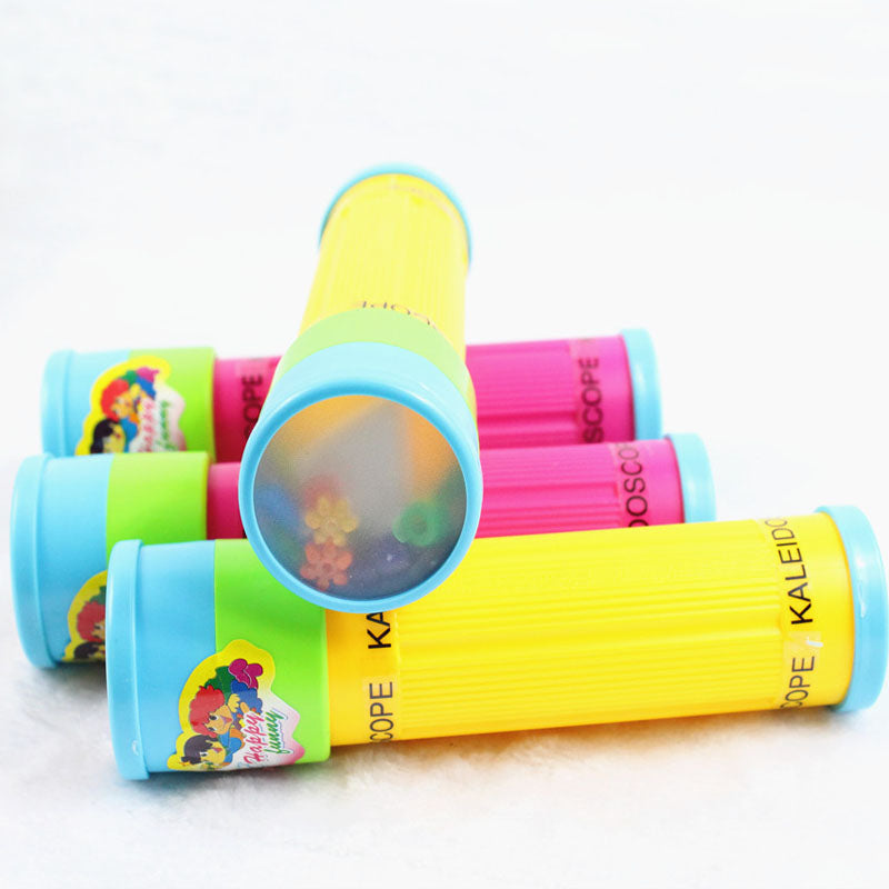 Montessori Rotating  Kaleidoscope Imaginative Cartoon Children Interactive Logical Magic Classic Educational Toys for Kid