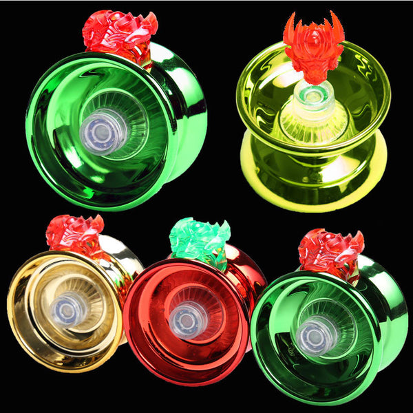 Yoyo Professional Hand Playing Ball Yo yo Yo-yo High Quality Metal Alloy Yoyo Classic Toys Diabolo Magic Gift For Kid Children