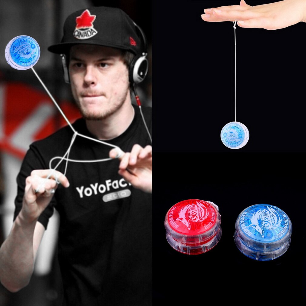 Hot 1pc Colorful Magic Yoyo Toys For Kids Plastic Easy to Carry yo-yo Toy Party Boy Classic Funny Yoyo Ball Toys Gift
