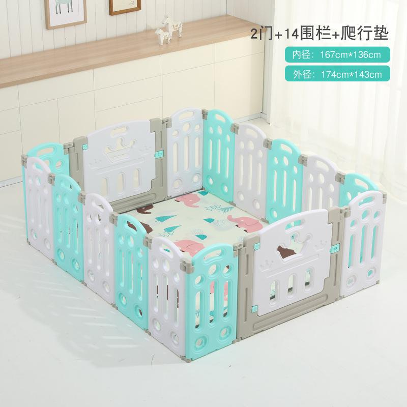 Children's play Fence Folding Indoor Amusement Park Baby Home Safety Toddler playen Toy Fenceing send Baby Crawling Mat