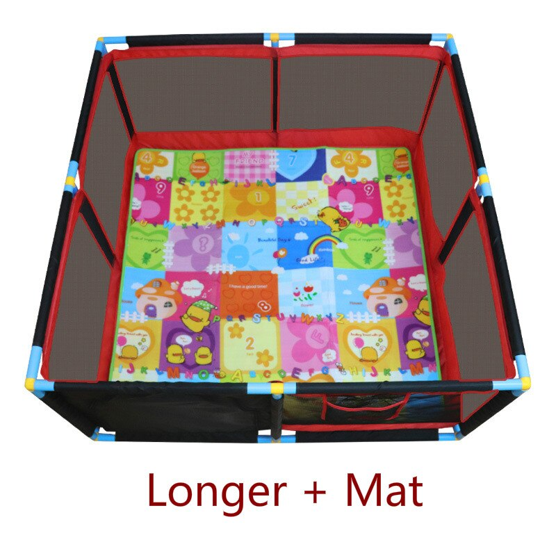 Children's Fence Multi-size Indoor Home Baby Game Fence Fence Safety Toddler Crawling Protection Ball Toy play yard  bed kids