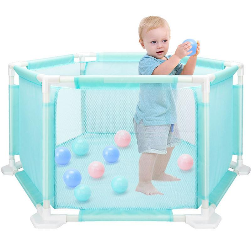 Children's Baby Fence Playpen Playard Toys Washable Ocean Ball Pool Set For Babies Toddler Newborn Infant Safe Crawling Baby