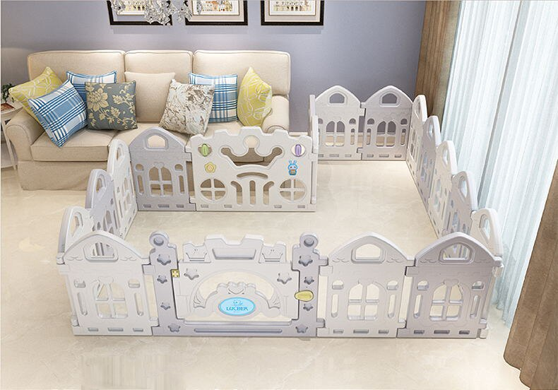 Baby Fence Toddler Children Crawling Mat Baby Game Baby Safety Fence Kids Play House Indoor Toys Baby Playpen Play Yard