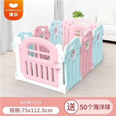 2019  Real Cercadinho Baby Playpen Fence For Children Child Game Crawling Security Toddler Ball Pool Toy moon playen fence