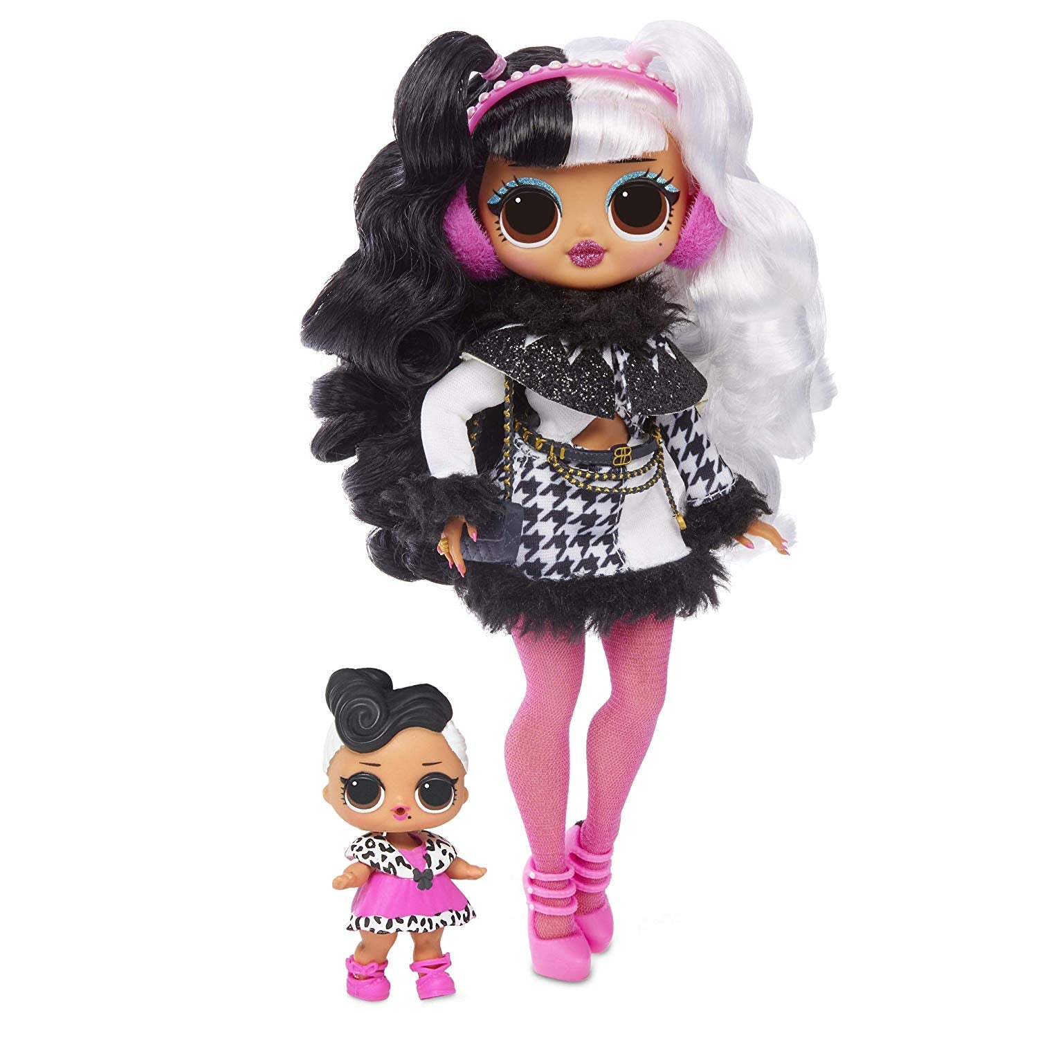 L.O.L. Surprise! O.M.G. Winter Disco Dollie Fashion Doll & Sister Girls Toys