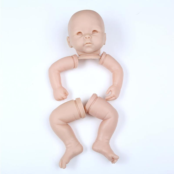 Reborn Doll Kit Asian Baby Model Rebirth Infant Doll Mould Asia Facial Form