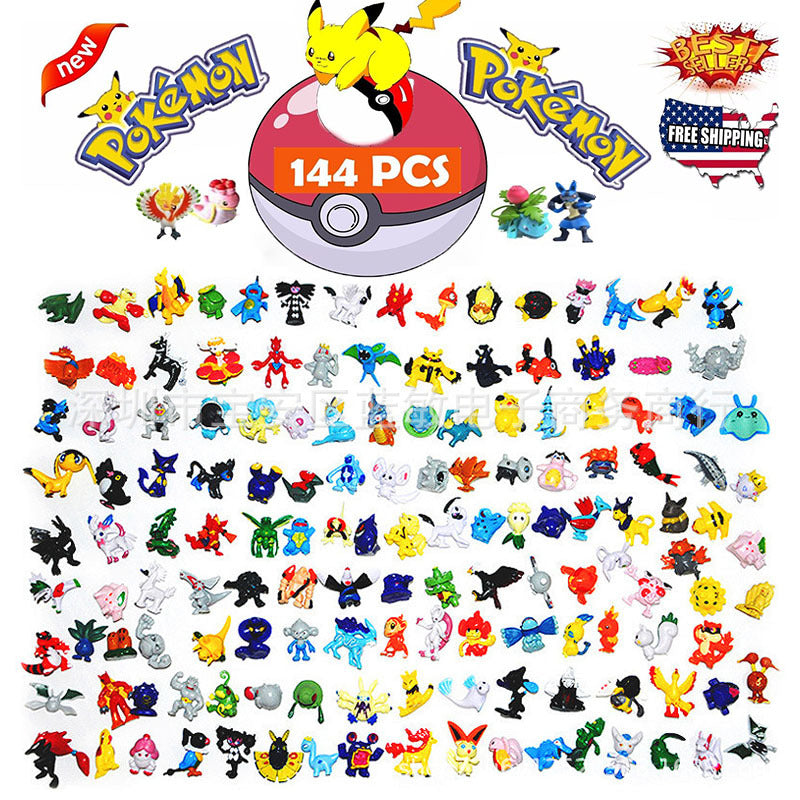 TAKARA TOMY POKEMON Figures 144 Different Styles 24pieces/bag New Dolls Action Figure Toys for Carta Pokemon Collectible Dolls