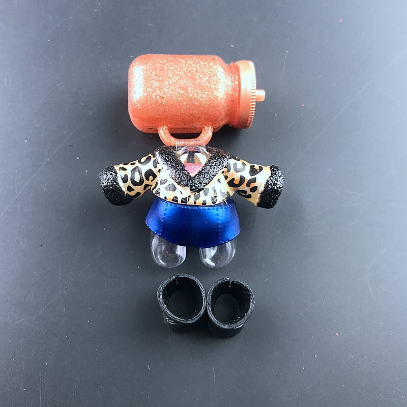 1 set LOLs Doll clothes glasses bottle shoes Accessorries lols accessories on sale Original LOLs dolls collection