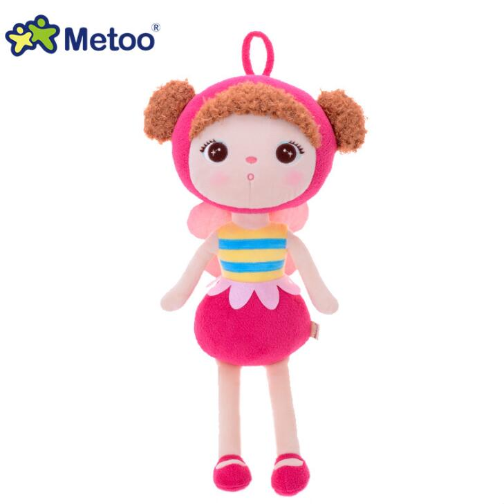 45cm kawaii Stuffed Plush Animals Cartoon Kids Toys for Girls Children Boys Kawaii Baby Plush Toys Koala Panda Baby Metoo Doll