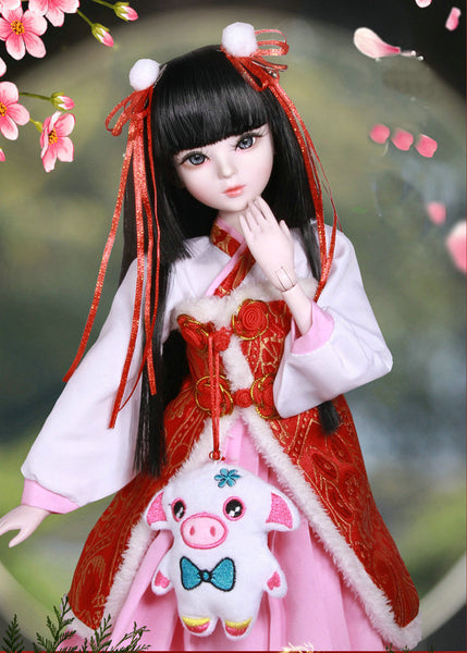 60cm Lifelike Fashion Girl Dolls Large Original Handmade 1/3 Bjd Doll Full Set Jointed Doll Children Toys for Girl Birthday Gift