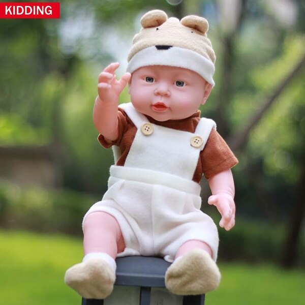 41cm ITOUCH Function Baby Dolls speak papa mama laughing crying Silicone Reborn Super Baby Lifelike Toddler Baby Boneca Kid Gift