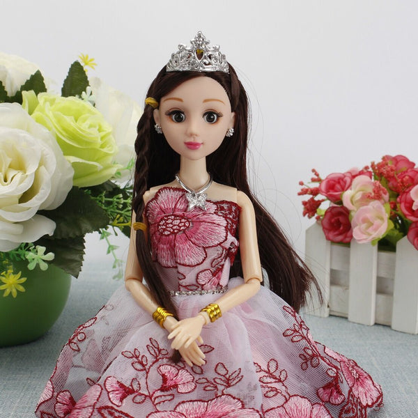 30cm BJD Doll Mermaid Body Cake Wedding Design Model 12 Joint Dress Up Doll Girls Toys Dolls for Girls
