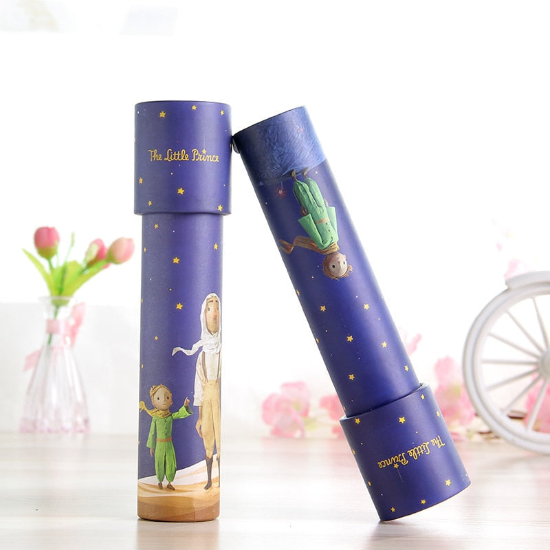 Montessori Rotating Unicorn Kaleidoscope Imaginative Cartoon Children Interactive Logical Magic Classic Educational Toys for Kid