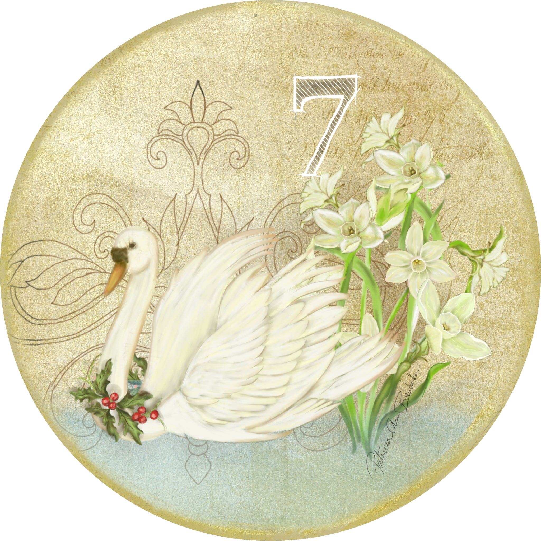 Twelve Days - Swans Swimming