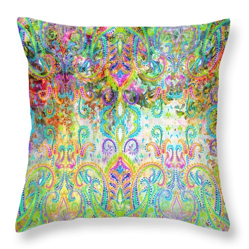 Colorful - Celedon - Throw Pillow