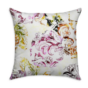 Square Throw Pillow - COVER ONLY