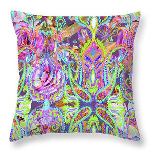 Colorful - Happiness - Throw Pillow