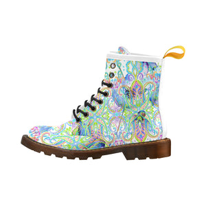 Spring Rain Lace-up  Boot by Patricia Ann Brubaker