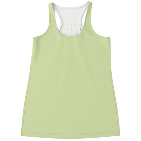 Lime Flowy Tank Top