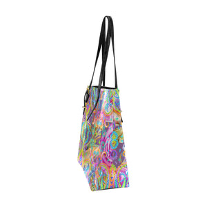 Happiness Euro Tote by Patricia Ann Brubaker
