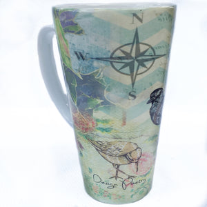 Latte Mug- By the Sea, Plover