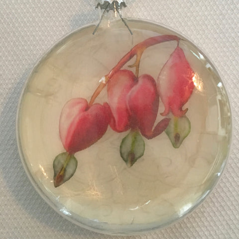 Everyday Ornaments- Summer Blooms- Bleeding Heart