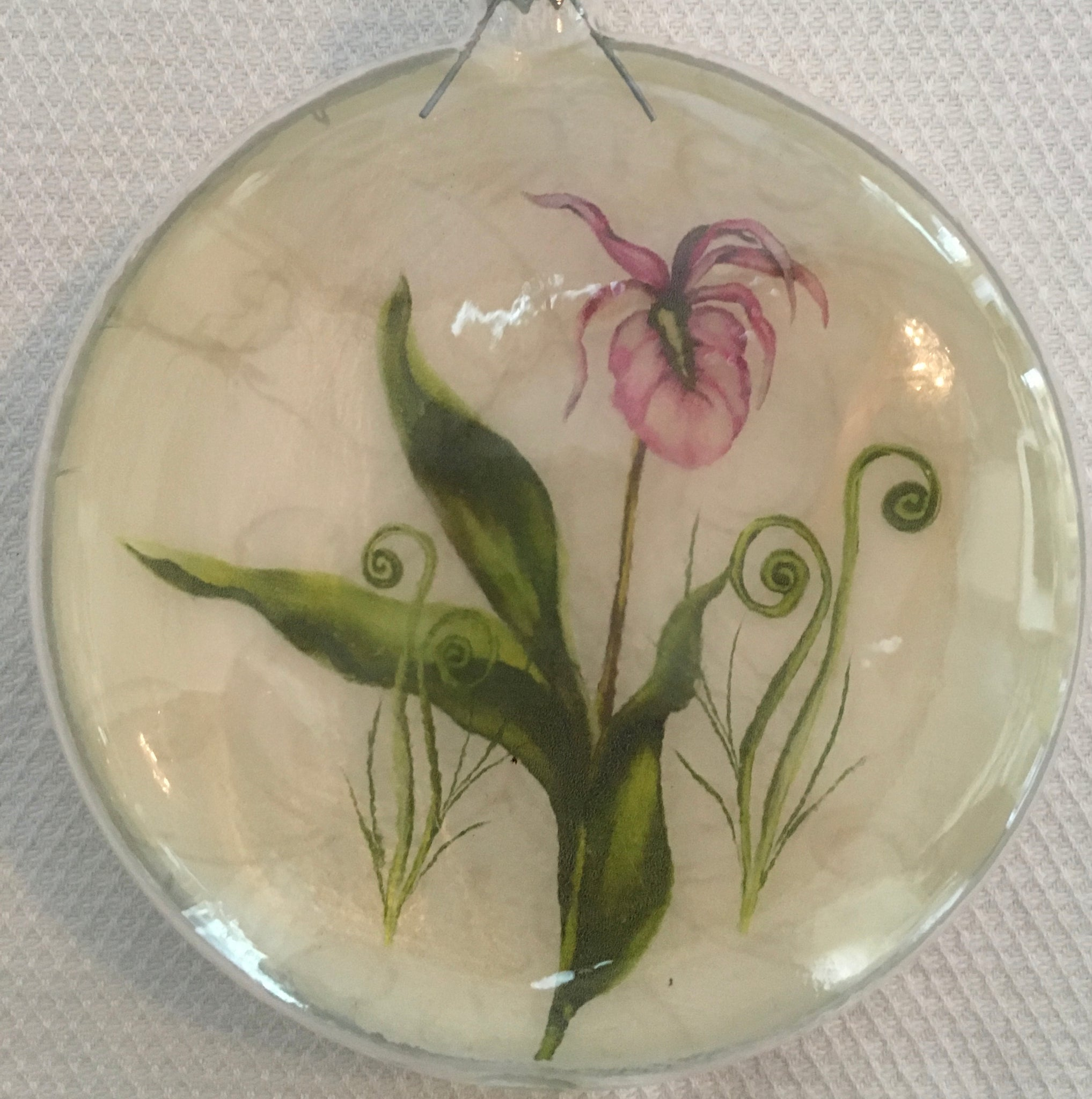 Everyday Ornaments- Summer Blooms- Lady Slipper