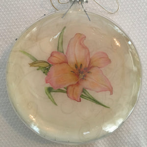 Everyday Ornaments- Summer Blooms- Lily Tangerine