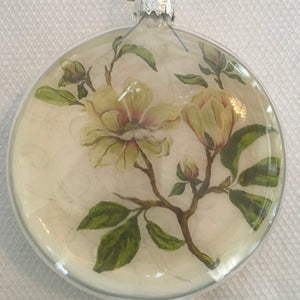 Everyday Ornaments- Summer Blooms- Magnolia Cream