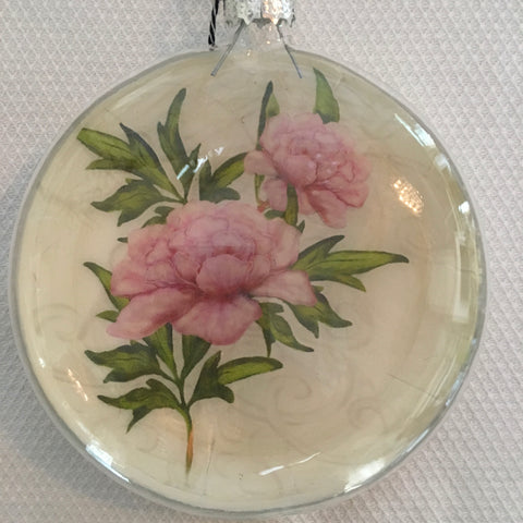 Everyday Ornaments- Summer Blooms- Peony