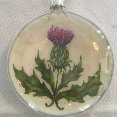 Everyday Ornaments- Summer Blooms- Thistle