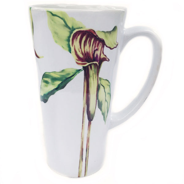 Latte Mug- Summer Blooms- Jack in the Pulpit