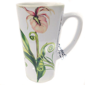 Latte Mug- Lady Slipper