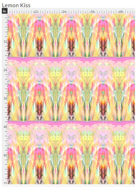 """Lemon Kiss"" Fabric"